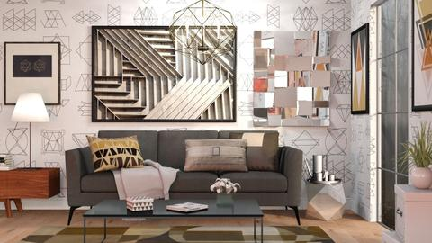 Geometric - Modern - Living room - by Sally Simpson