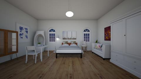widok za oknem - Bedroom - by Brajan Live