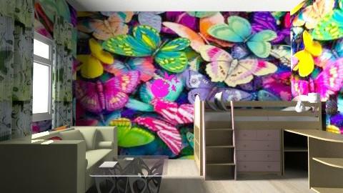 Butterfly - Bedroom - by langerreka