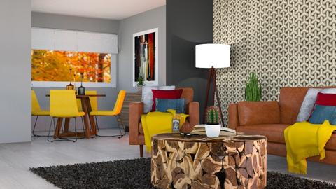 andys livin room view 2  - Modern - Living room - by Mark T
