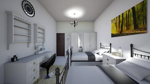 Guest bedroom - Bedroom - by lideame
