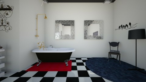 the modern vintage side 2 - Vintage - Bathroom - by theaphrodite
