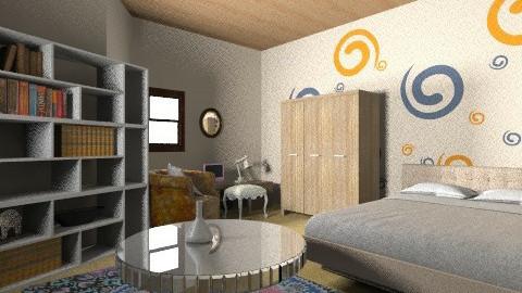 adolescente - Bedroom - by silvanerosa