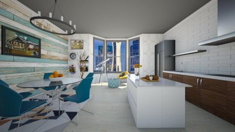 Classic Dutch House - Modern - Kitchen - by bgref