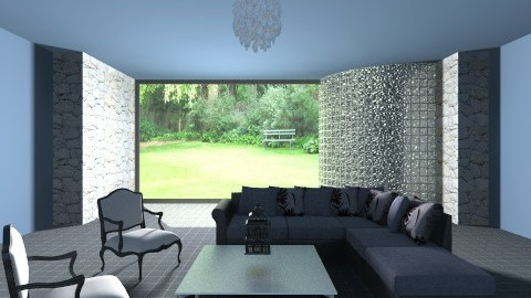 DH living room - Modern - Living room - by Emily_Foster12