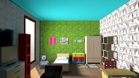 The dream  - Vintage - Kids room - by jonathangray1840