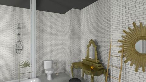 gold - Bathroom - by rosiedoll