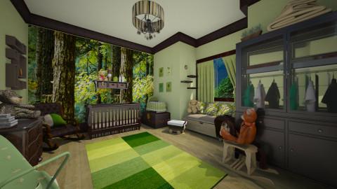 Newborns Nursery - Kids room - by Lackew
