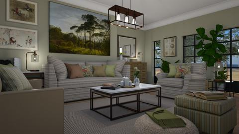 More - Living room - by Tuija