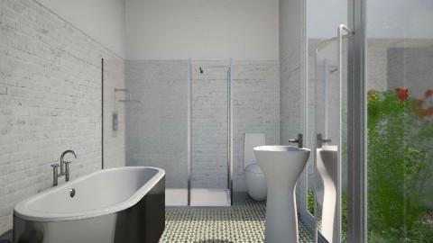 Private Garden Bath - Modern - Bathroom - by 3rdfloor