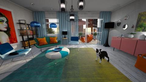 Playful living - Living room - by edDesign