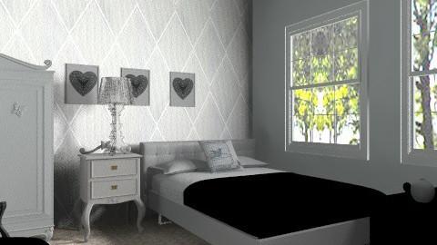 Vintage style glamour - Feminine - Bedroom - by lottie21