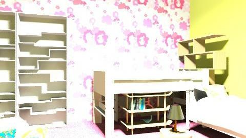Taylor Thomas - Retro - Kids room - by TaylorThe Decorator