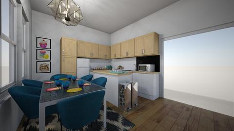New Kitchen w bthrm 4 - Kitchen - by Kmstyles84