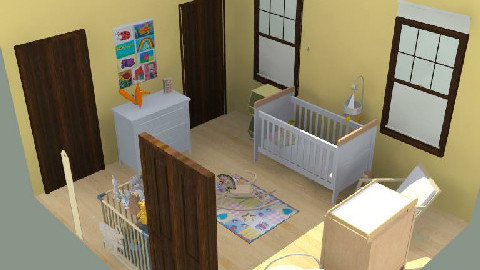 Farm House Nursery - Country - Kids room - by jodiangel