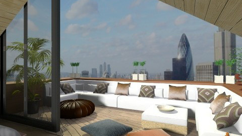 bedroom2 - Modern - Bedroom - by XValidze