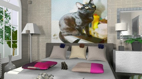 Cats - Eclectic - Bedroom - by milyca8