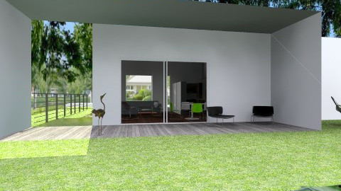 CACTUS MOD 118 M2 - Minimal - Garden - by domuseinterior