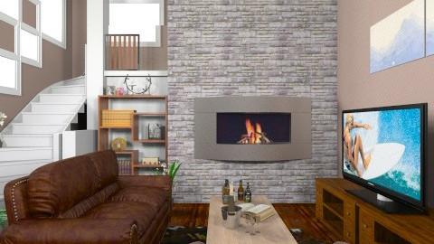 Livingroom - Masculine - Living room - by bigskylibby