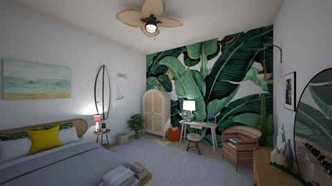 surf culture bedroom - Bedroom - by td123