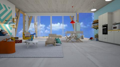Surfer  - Eclectic - Living room - by augustmoon