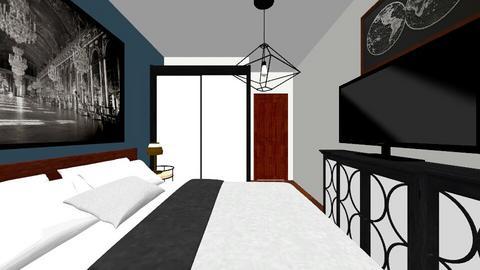 sypialnia 4 - Bedroom - by kassandraslu