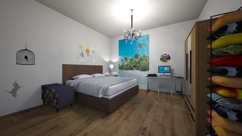 tony99 - Classic - Bedroom - by wangchao777