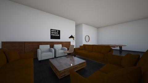 Burnt wood - Living room - by Sadiesct