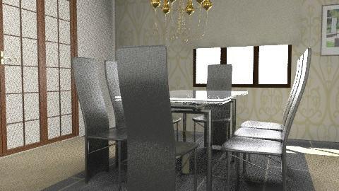 Dina - Modern - Dining room - by AmyMcGrane