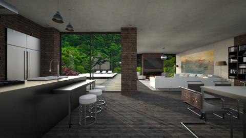 House - Kitchen - by _Taz_