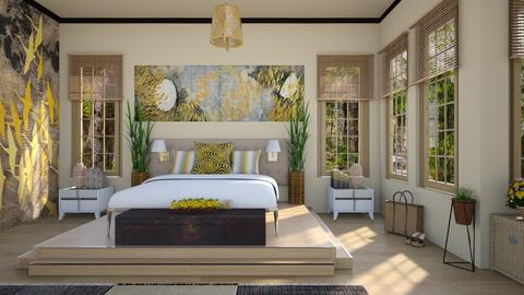 Design 441 Japanese Art Inspiration - Bedroom - by Daisy320
