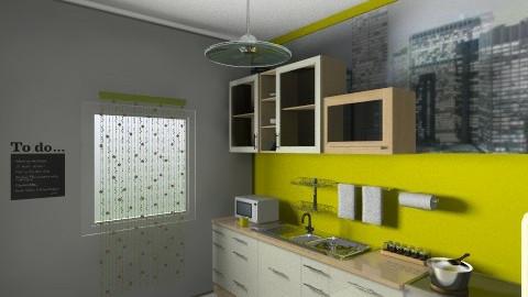 lime - Kitchen - by Ren707