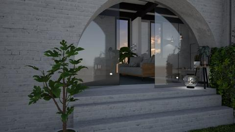 Brick and Glass - Modern - Living room - by StienAerts