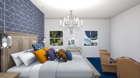 bedroom  - Bedroom - by Chix Ovenden