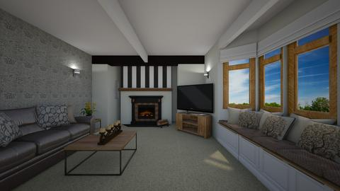 AK Norman Living Room - by hwhomedesign
