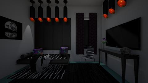 Small Bedroom 5 - Modern - Bedroom - by XiraFizade