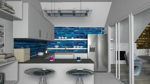 Top floor kitchen - Modern - Kitchen - by liling