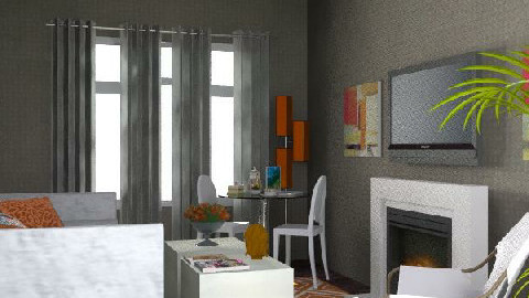 Domesticnovice - LR2 - Glamour - Living room - by AlSudairy S