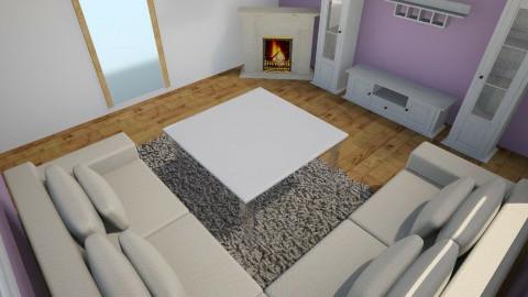 fialova - Living room - by macka0020