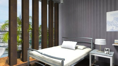 Silver bed - Minimal - by milyca8