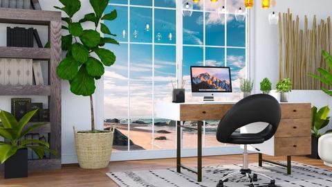 Beach Office - Modern - Office - by millerfam
