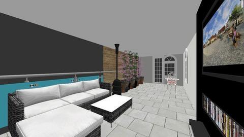 terrace - Garden - by doddsy11