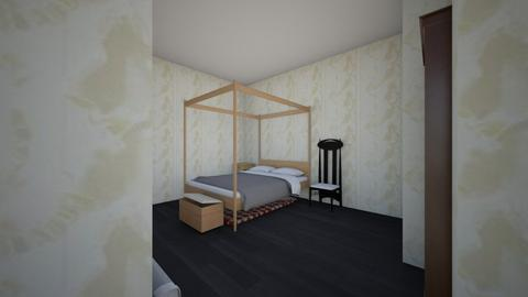 Coralines room - Minimal - Bedroom - by PUPPY FIGHT