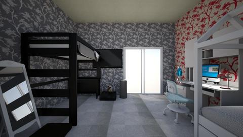 Bedroom of two girls - Modern - Bedroom - by AnnaBondar