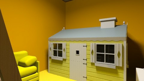 Claires yellow room - Feminine - Kids room - by ept101