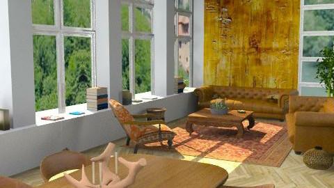 Apartment - Classic - Living room - by camilla_saurus