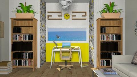 My office - Modern - Office - by Nicky West