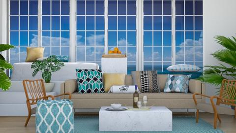 Coastal - Modern - Living room - by stephendesign