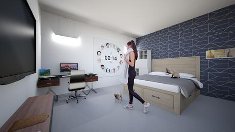the popular girl - Bedroom - by natayahomg
