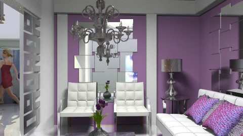 3*3 room luxury furniture show - Eclectic - Living room - by liling